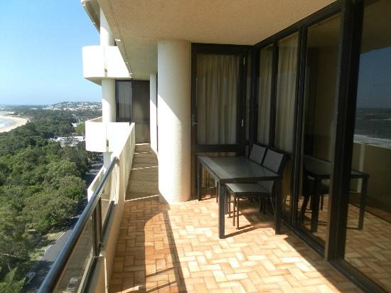 Pacific Towers Apartments: Balcony