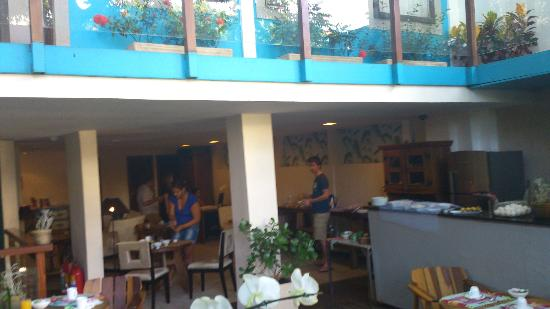 Quinta Azul Boutique: Reception and breakfast area