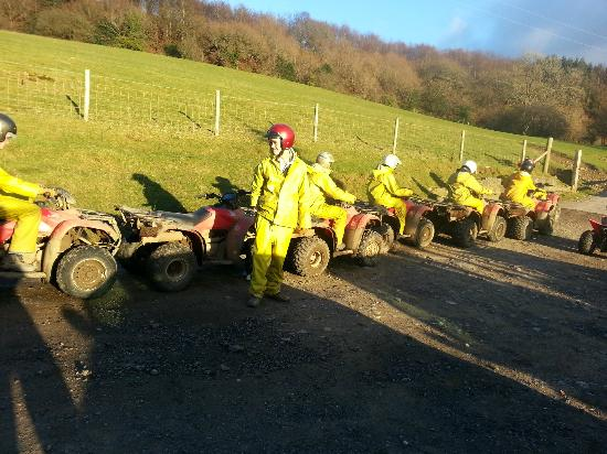 Stag Party Quad Biking - Picture of Taff Valley Quad Bike ...