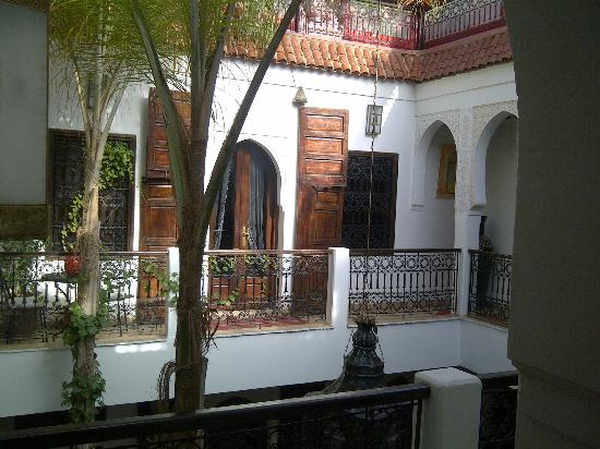 Riad La Porte Rouge: The landing, looking across to our room.