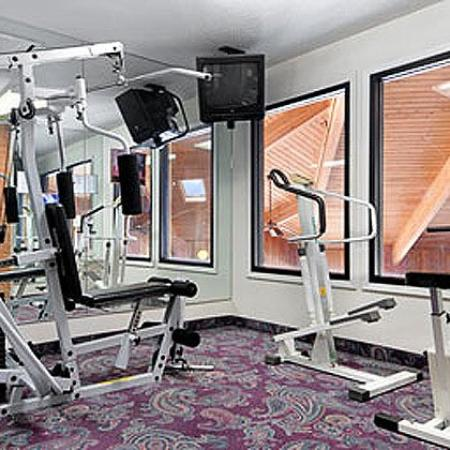 Regency Inn and Suites: Fitness Center