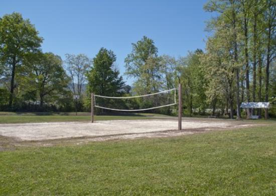 Andrews, North Carolina: Volleyball court