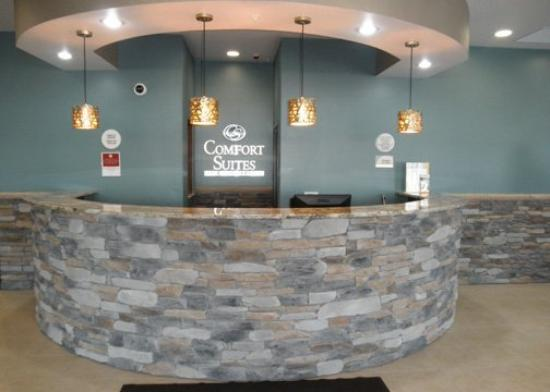 Comfort Suites Hudson: Lobby