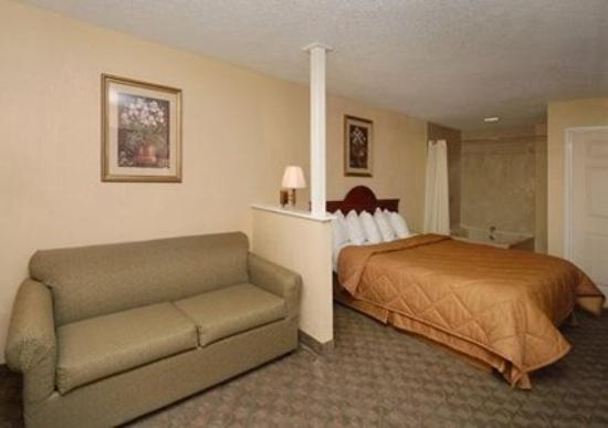 Econo Lodge Hillsboro: King Whirlpool room