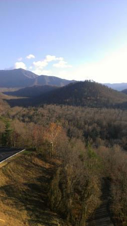 Park Vista - DoubleTree by Hilton Hotel - Gatlinburg: View from 12th floor balcony