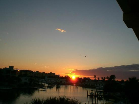 Sunrise from our Balcony ~ Treasure Bay Hotel &amp; Marina