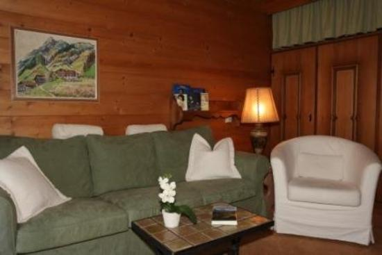 Chalet Hotel Senger: Wohnzimmer