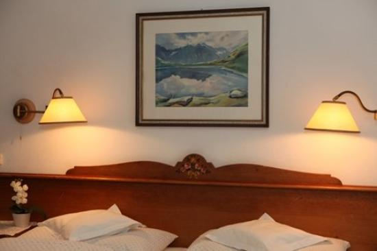 Chalet Hotel Senger: Doppelbett