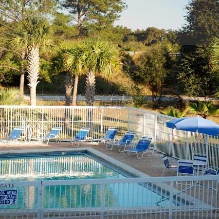 Micanopy Inn Outdoor Pool View