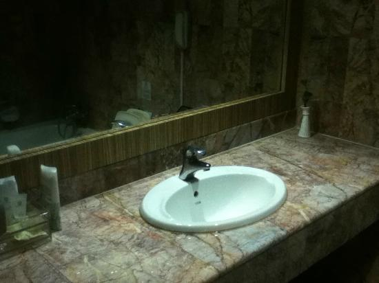 Formosa Hotel: Washing sink