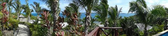 Wananavu Beach Resort: You'll never get tired of the views!!
