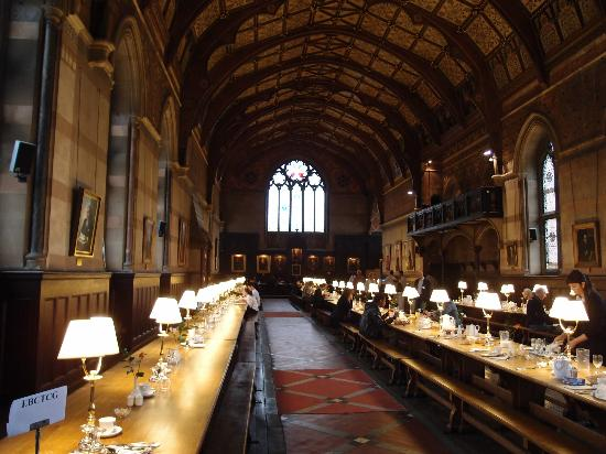 Keble College: Dining Hall