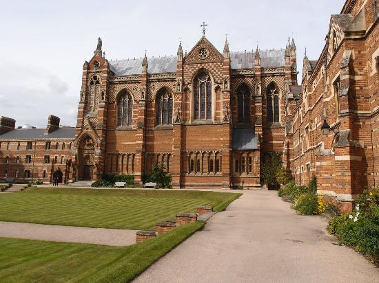 ‪‪Keble College‬: Liddon Quad