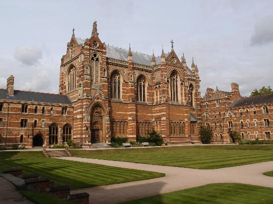 Keble College: Chapel