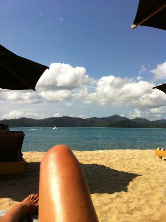 Qualia Resort: View from Pool Area
