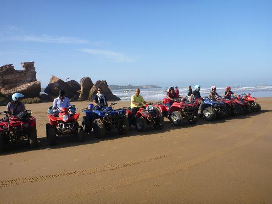 Diana Quad: Lineup in front of the dunes