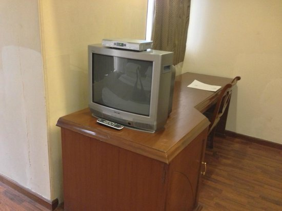 Hotel Residency: Big flat TV in their 2012 best executive room