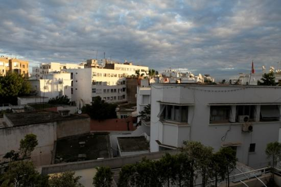 Le Diwan Rabat: The view from our room - not so inspiring even in good light