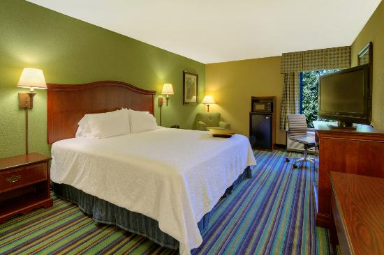 Hampton Inn Raleigh/Cary: King Guest Room