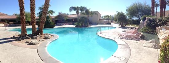 Miracle Springs Hotel and Spa: The biggest pool at the hotel