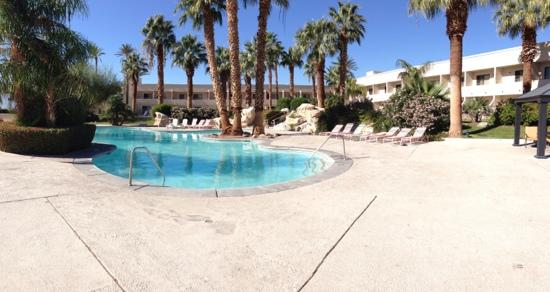 Miracle Springs Hotel and Spa: One of eight pools at the hotel