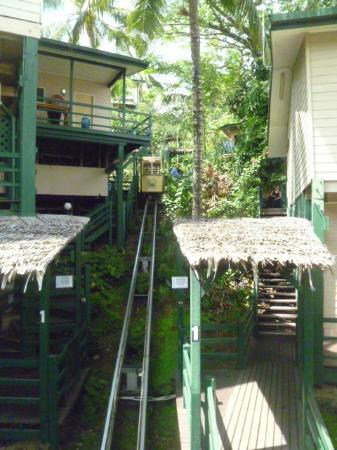 King Solomon Hotel: The cable car