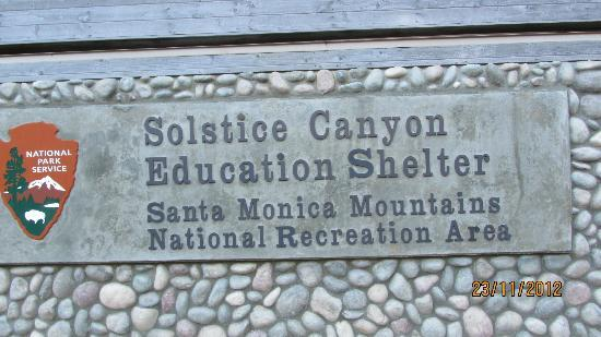 Solstice Canyon: The Entrance