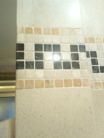 Palazzo Versace: bathroom tiles