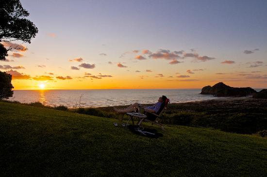 Bethells Beach Cottages: Views to live for