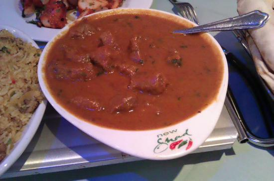 Strood, UK: amazing lamb madras