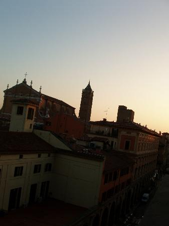 Albergo Centrale: Dawn from room 16