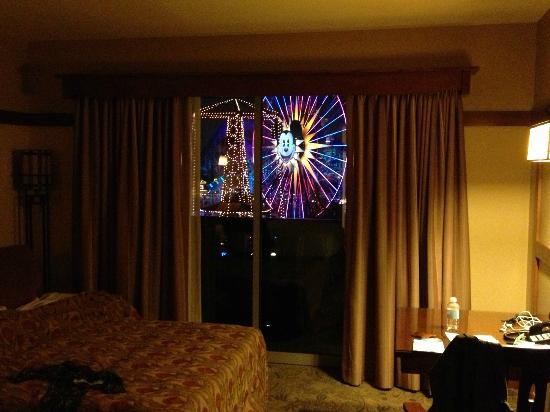 Disney's Grand Californian Hotel: View from studio suite 5504! Really!