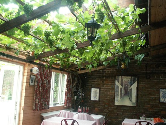 Hadlow, UK:                   The Vine Room