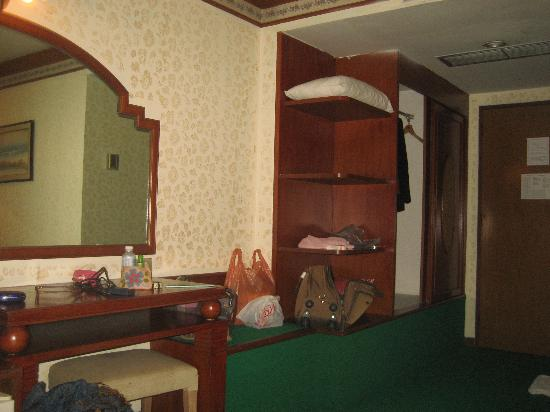 Grande Ville Hotel: this is my room where I live in MERCURY PATAYA