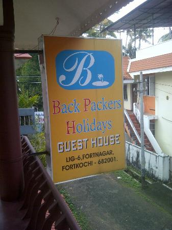 ‪Backpacker Holidays Guest House Kochin‬