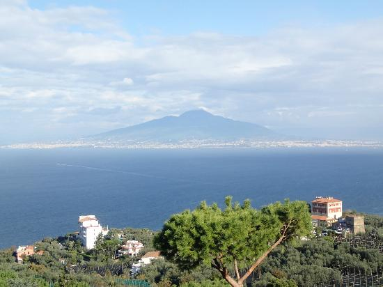 Il Nido Hotel Sorrento: Mt Vesuvius & Bay of Naples