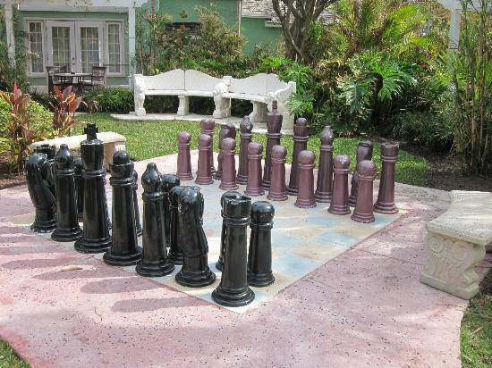Sandals Royal Bahamian Spa Resort & Offshore Island: anyone for chess?