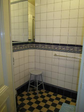 Hotel Museumzicht: This is half of the bigger shower area