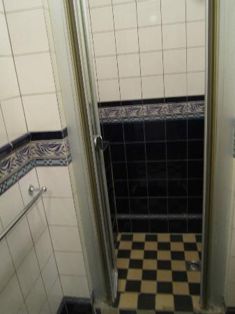 Hotel Museumzicht: This is the small shower area