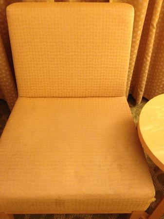 Orchard Garden Hotel: Dirty furniture