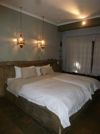 Olive Grove: Our comfortable bed