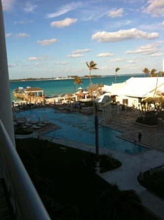 Sandals Royal Bahamian Spa Resort & Offshore Island: view from our room