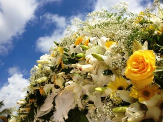 Maradiva Villas Resort and Spa: Wedding Bouquet