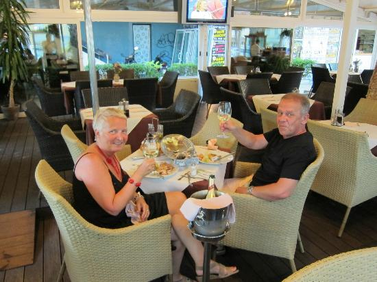 Riva Suites: The best fish dinner we have had in a long time