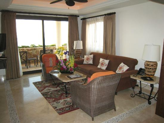 Grand Solmar Land's End Resort & Spa: Suite Living Room