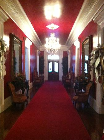 Magnolia Mansion: The main hall of the mansion, on the main floor.