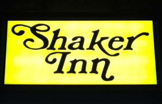 The Shaker Inn: clean. recommended.