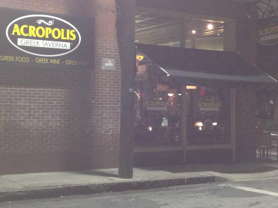 Acropolis bar and grill tampa restaurant reviews for Acropolis cuisine menu