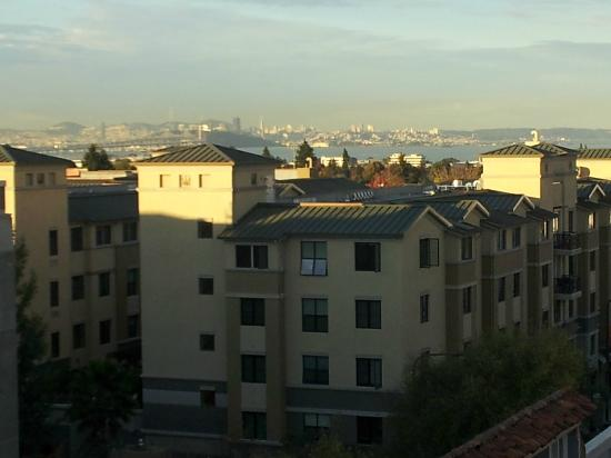 Hotel Shattuck Plaza: Morning View of San Francisco from Shattuck 518