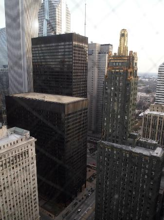 Club Quarters Chicago -- Wacker at Michigan: view